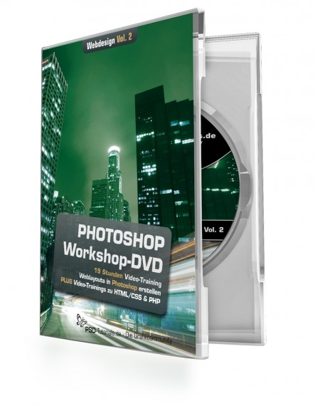 Photoshop-Workshop-DVD - Webdesign Vol. 2