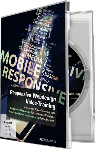 Responsive Webdesign - Video-Training von Pascal Bajorat