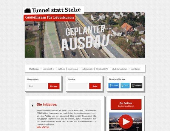 Tunnel statt Stelze - SPD-Fraktion Leverkusen