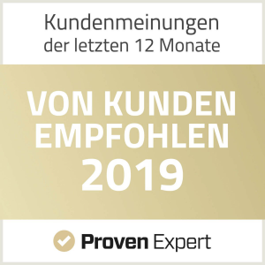 ProvenExpert - Recommended by Clients