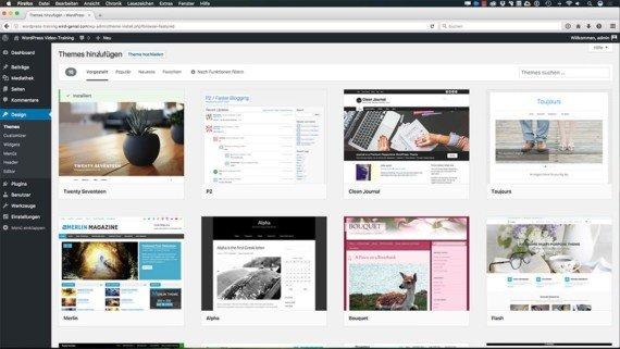 WordPress Kurs - Themes