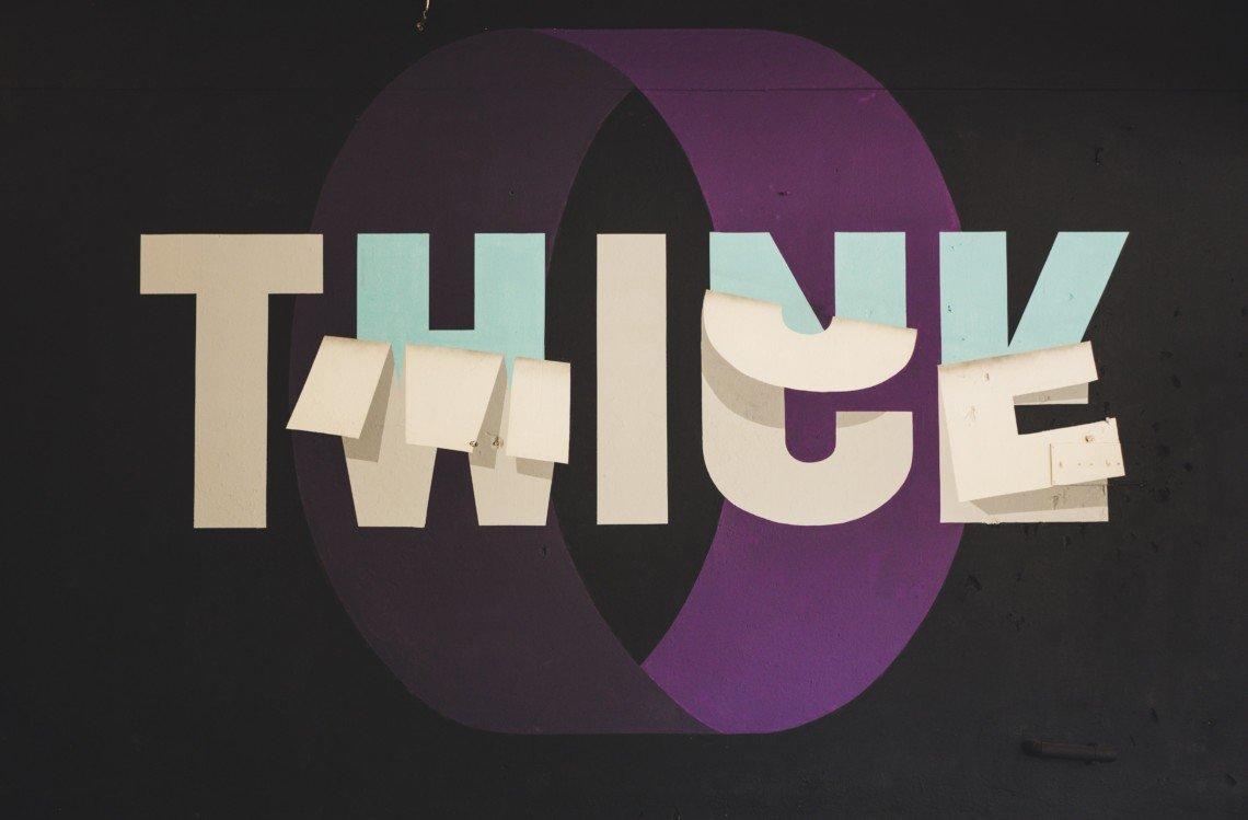 Die Qualität bei Bildmaterial ist entscheidend: Think Twice